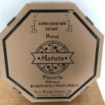 Caixa para pizza pré-assada