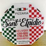 Caixas de pizza flexográfica