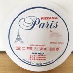 Caixas de pizzas fotográficas