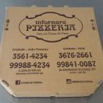 Caixa de pizza quadrada atacado